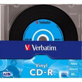 VERBATIM CD-R 700MB slimbox
