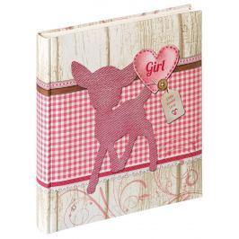WALTHER DINKY GIRL klasické/60 stran, 28x30,5, růžová,dětské