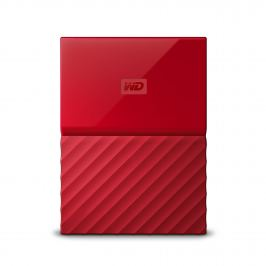 "WD MY PASSPORT 2TB Ext. 2.5"" USB3.0, červený"