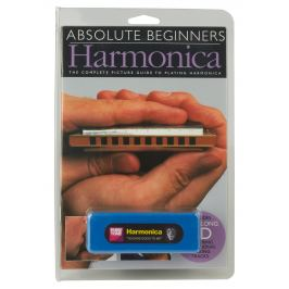 MS Absolute Beginners: Harmonica (Compact Edition) - Book/CD/Instrumen