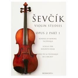MS The Original Sevcik Violin Studies: School Of Bowing Technique Part