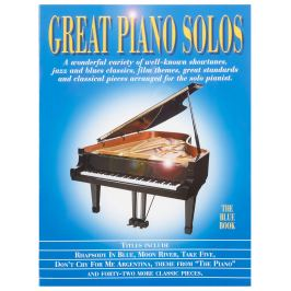 MS Great Piano Solos - The Blue Book