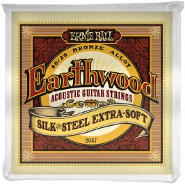 Ernie Ball Earthwood Silk & Steel Extra Soft