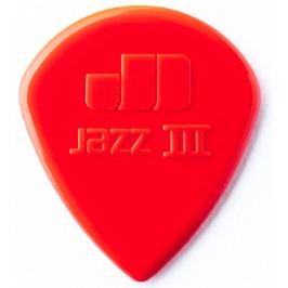 Dunlop Jazz III Red Nylon