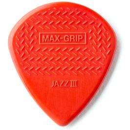 Dunlop Max Grip Jazz III Red Nylon