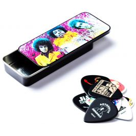 Dunlop Jimi Hendrix Pick Tin Are You Experienced
