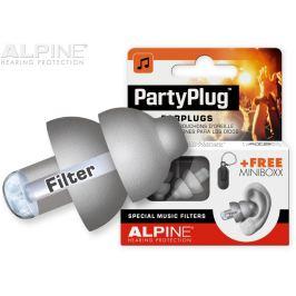 Alpine PartyPlug Silver Grey