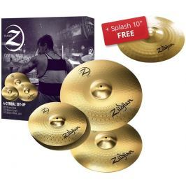 Zildjian Planet Z 4 pack + 10