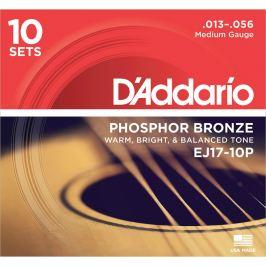 D'Addario EJ17-10P