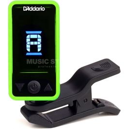 D'Addario Planet Waves Eclipse Tuner Green