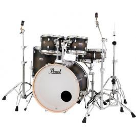 Pearl DMP Decade Satin Black Burst Rock Set