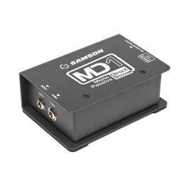 Samson MD1 DI boxy / patchbaye / splittery / konvertory