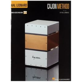 MS Hal Leonard Cajon Method Noty na perkuse