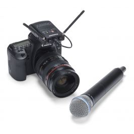 Samson Concert 88 Camera Handheld K Bezdrátové reportážní sety