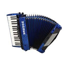 Hohner Bravo III 72 dark blue (SilentKey) Klávesové akordeony