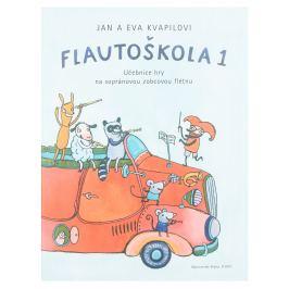 KN Flautoškola 1 - Učebnice hry na sopránovou zobcovou flétnu Noty na flétnu