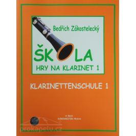 KN Škola hry na klarinet I Noty na dechové nástroje