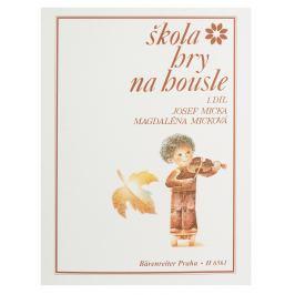 KN Škola hry na housle I Noty na smyčcové nástroje