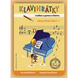 KN Klavihrátky - s tužkou a gumou u klavíru - pracovní sešit 1 Noty na klávesové nástroje
