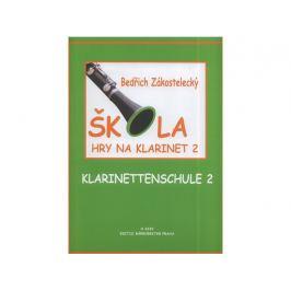 KN Škola hry na klarinet II Noty na dechové nástroje
