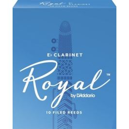 D'Addario Rico Royal Eb Clarinet 3,5, 10
