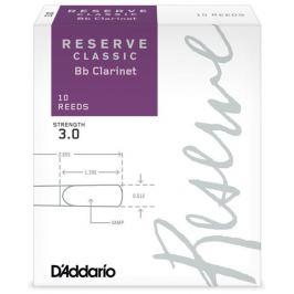 D'Addario Rico Reserve Classic Bb Clarinet 10 - 3.5