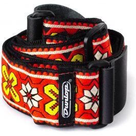 Dunlop Jacquard Strap Avalon Red