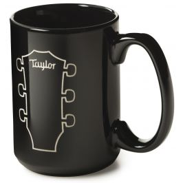 Taylor Etched Mug Black, 15 oz