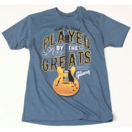 Gibson Played By The Greats T-Shirt Indigo S