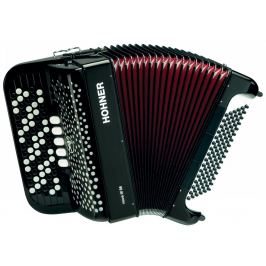 Hohner Nova III 96 black, B-stepped