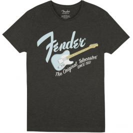 Fender Original Telecaster T-Shirt Dark Grey/Sonic Blue S