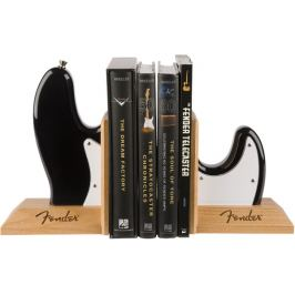 Fender Bass Body Bookends Black