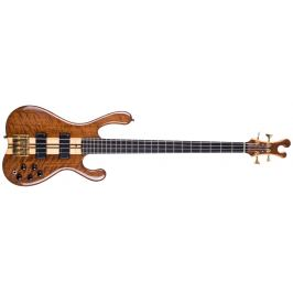 K&K Custom Active 4 Bass Polished Natural