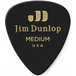 Dunlop Celluloid Black Medium