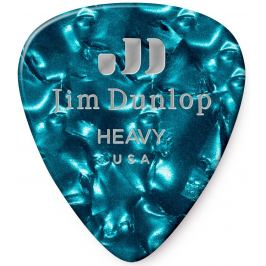 Dunlop Celluloid Turquoise Pearl Heavy