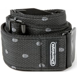 Dunlop Jacquard Strap Grey Skull
