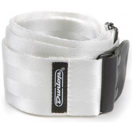 Dunlop Deluxe Seatbelt Strap White