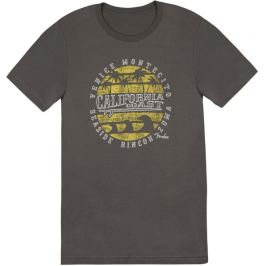 Fender California Coastal Yellow Waves T-Shirt M