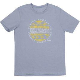 Fender California Coastal Yellow Waves T-Shirt Blue XL