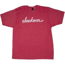 Jackson Logo T-Shirt Heather Red XXL