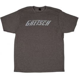Gretsch Logo T-Shirt Heather Gray L