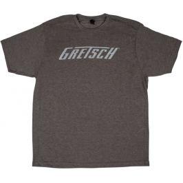 Gretsch Logo T-Shirt Heather Gray XXL