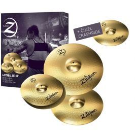 Zildjian Planet Z 4 Pack + 18