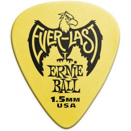 Ernie Ball Everlast Picks 1.5 Yellow