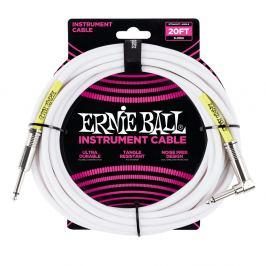 Ernie Ball 20' Classic Cable White