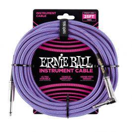 Ernie Ball 25' Braided Cable Purple