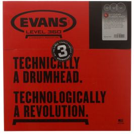 Evans Genera G1 Fusion Clear set