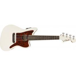 Fender Fullerton Jazzmaster Uke Olympic White