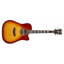 D'Angelico Premier Bowery Iced Tea Burst