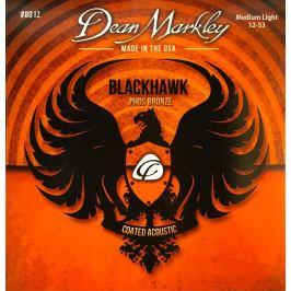 Dean Markley 8012 ML 12-53 Blackhawk Pure Bronze